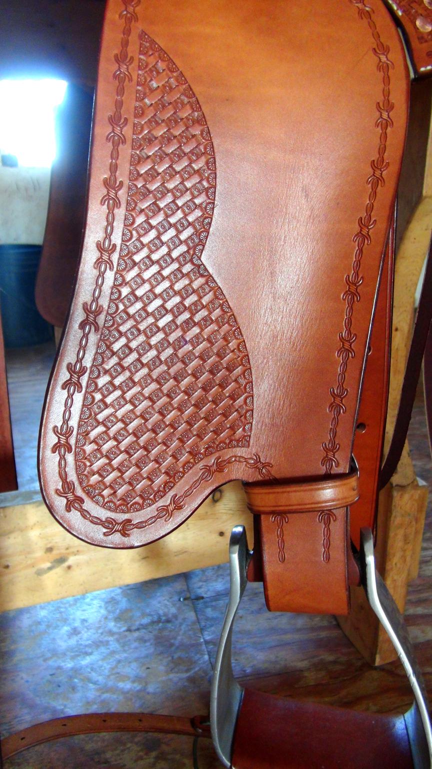 Index of /Saddles-Tack/saddle-photos/Blond-Saddle-gaited-mule-horse