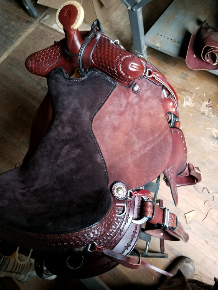 Mule Saddles For Sale @ Missouri Mule Company | Trail Saddles For Sale