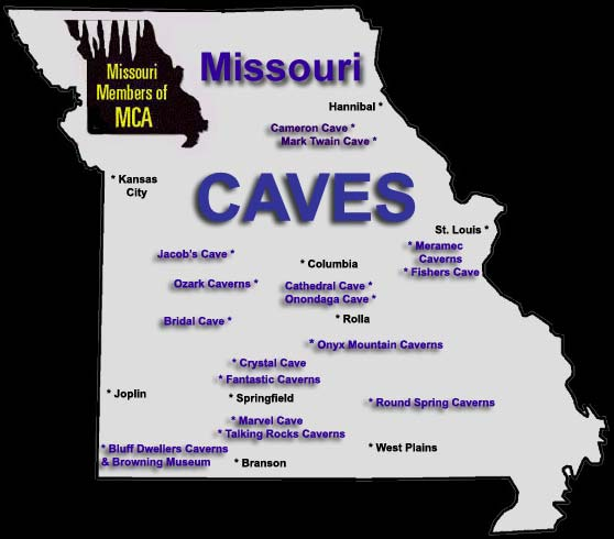Area Attractions in Missouri by the Missouri Mule Company